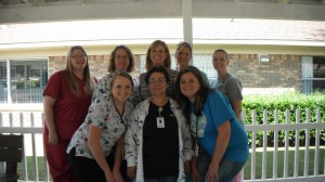 We have a great staff of nurses that are caring and dedicated.